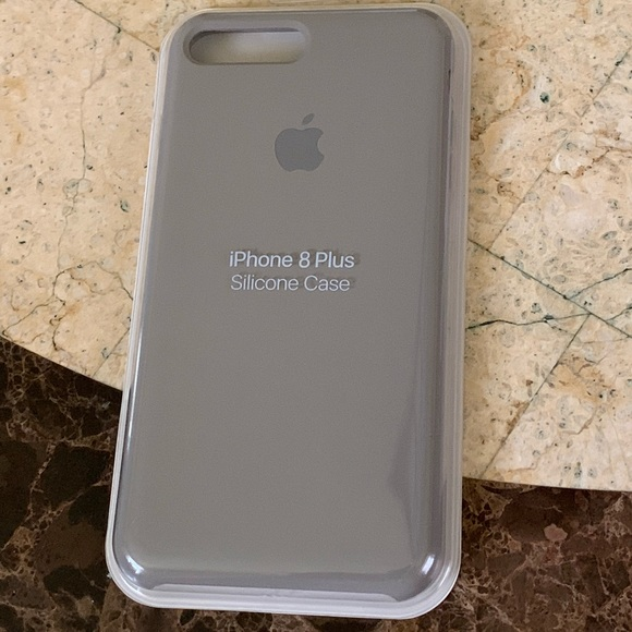 grey silicone iphone 8 case